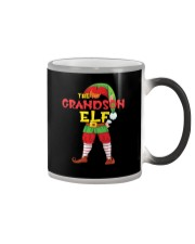 The Grandson Elf Matching Family Color Changing Mug thumbnail