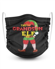 The Grandson Elf Matching Family 2 Layer Kids Face Mask - Single thumbnail