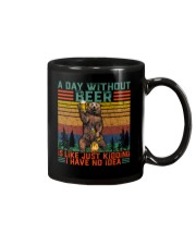 Funny A Day Without Beer Is Just Like Kidding  Mug thumbnail