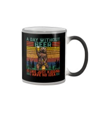 Funny A Day Without Beer Is Just Like Kidding  Color Changing Mug thumbnail