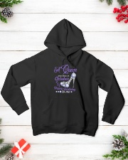 A Queen Was Born In October Happy Birthday to Me  Hooded Sweatshirt lifestyle-holiday-hoodie-front-3