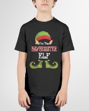 I'm The Baybesister Elf Matching Family Christmas  Youth T-Shirt garment-youth-tshirt-front-01