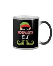 I'm The Baybesister Elf Matching Family Christmas  Color Changing Mug thumbnail
