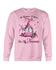In October I Wear Pink For My Nannie Crewneck Sweatshirt thumbnail