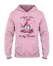 In October I Wear Pink For My Nannie Hooded Sweatshirt thumbnail