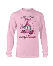 In October I Wear Pink For My Nannie Long Sleeve Tee thumbnail