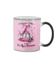 In October I Wear Pink For My Nannie Color Changing Mug thumbnail