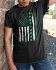 St Patricks Day Irish American Flag Classic T-Shirt apparel-classic-tshirt-lifestyle-27