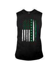 St Patricks Day Irish American Flag Sleeveless Tee thumbnail
