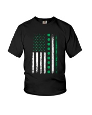 St Patricks Day Irish American Flag Youth T-Shirt thumbnail