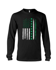 St Patricks Day Irish American Flag Long Sleeve Tee thumbnail