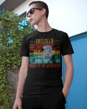 Dadzilla Father Of The Monsters Father's Gift Classic T-Shirt apparel-classic-tshirt-lifestyle-17