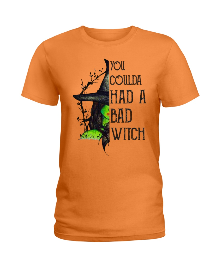 You Coulda Had A Bad Witch Funny Ladies T-Shirt