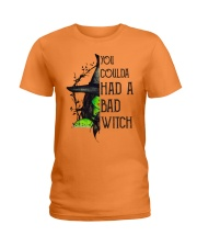 You Coulda Had A Bad Witch Funny Ladies T-Shirt front