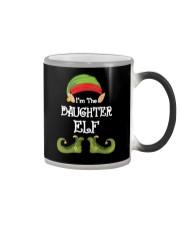 I'm The Daughter Elf Matching Family Christmas Color Changing Mug thumbnail