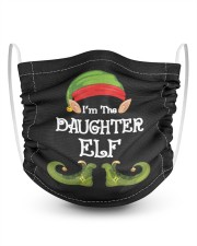 I'm The Daughter Elf Matching Family Christmas 2 Layer Kids Face Mask - Single thumbnail