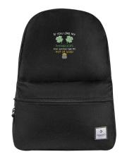 If You Like My Shamrocks - St Patrick's Day  Backpack thumbnail
