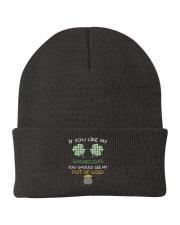 If You Like My Shamrocks - St Patrick's Day  Knit Beanie thumbnail