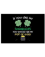 If You Like My Shamrocks - St Patrick's Day  24x16 Poster thumbnail