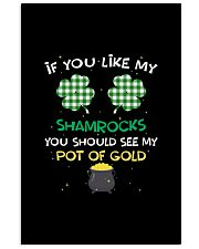 If You Like My Shamrocks - St Patrick's Day  11x17 Poster thumbnail
