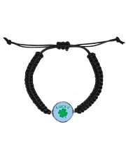Lucky Shamrock  St Patrick's Day Accessories Cord Circle Bracelet thumbnail