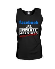 Funny Facebook Jail Inmate Social Media Jail  Unisex Tank thumbnail