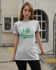 Shenanigan Irish Green Shamrock St Patrick's Day Classic T-Shirt apparel-classic-tshirt-lifestyle-19