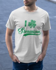 Shenanigan Irish Green Shamrock St Patrick's Day Classic T-Shirt apparel-classic-tshirt-lifestyle-front-46