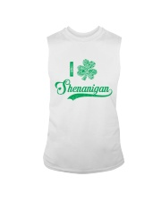 Shenanigan Irish Green Shamrock St Patrick's Day Sleeveless Tee thumbnail