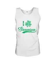 Shenanigan Irish Green Shamrock St Patrick's Day Unisex Tank thumbnail