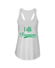 Shenanigan Irish Green Shamrock St Patrick's Day Ladies Flowy Tank thumbnail