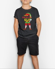 The Son-In-Law Elf Matching Family Youth T-Shirt lifestyle-youth-tshirt-front-1