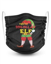 The Son-In-Law Elf Matching Family 2 Layer Kids Face Mask - Single thumbnail