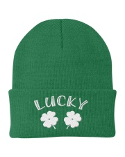 Lucky Shamrock - St Patrick's Day Accessories Knit Beanie thumbnail