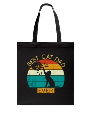 Best Cat Dad Ever - Vintage Father Daddy's Gift Tote Bag thumbnail