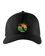 Best Cat Dad Ever - Vintage Father Daddy's Gift Embroidered Hat thumbnail