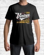 Vintage 1960 Age To Perfection Original Parts Premium Fit Mens Tee lifestyle-mens-crewneck-front-1
