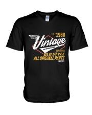 Vintage 1960 Age To Perfection Original Parts V-Neck T-Shirt thumbnail