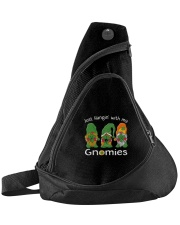 Just Hanging With My Gnomies Irish Green Shamrock  Sling Pack thumbnail