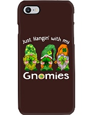 Just Hanging With My Gnomies Irish Green Shamrock  Phone Case tile