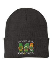 Just Hanging With My Gnomies Irish Green Shamrock  Knit Beanie thumbnail