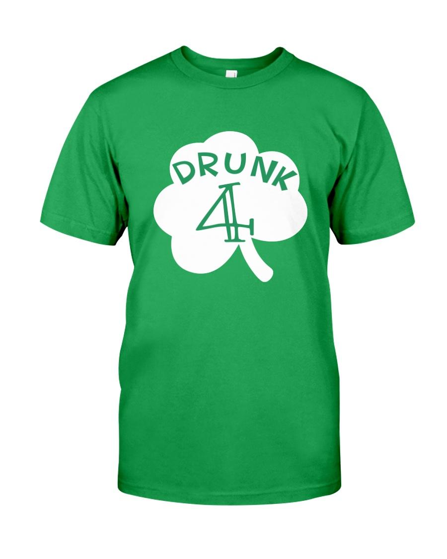Feeling Drunk 4 Irish Green Shamrock -Unisex Shirt Classic T-Shirt