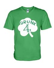 Feeling Drunk 4 Irish Green Shamrock -Unisex Shirt V-Neck T-Shirt thumbnail