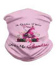 In October I Wear Pink For My Auntie Gnome Breast Neck Gaiter thumbnail