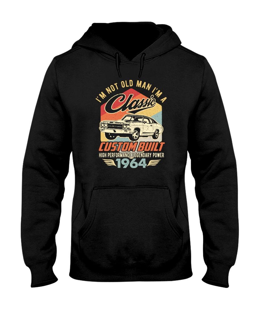 Classic Car - 56 Years Old Matching Birthday Tee  Hooded Sweatshirt
