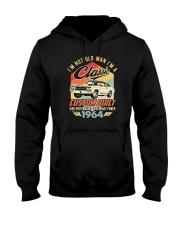 Classic Car - 56 Years Old Matching Birthday Tee  Hooded Sweatshirt front