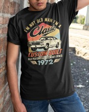 Classic Car - 48 Years Old Matching Birthday Tee  Classic T-Shirt apparel-classic-tshirt-lifestyle-27