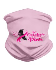 In October We Wear Pink Ribbon Leave Seagull Neck Gaiter thumbnail