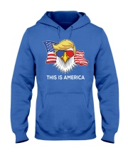 This is America Hooded Sweatshirt front