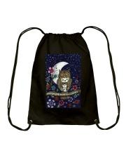 I LOVE OWL Drawstring Bag thumbnail